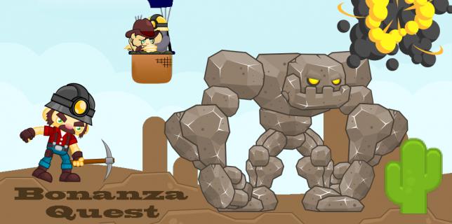 Bonanza Quest- Platformer Adventure Videogame